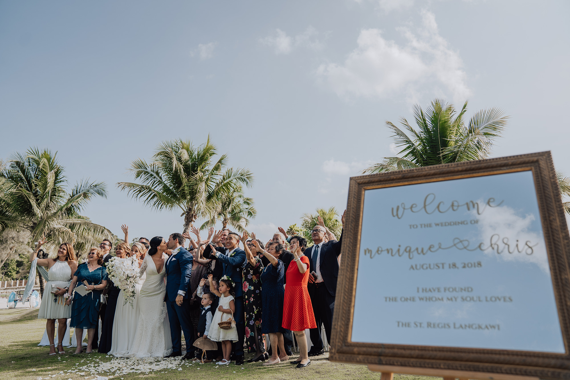 Langkawi, home to luxury weddings